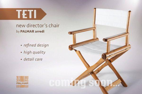 coming soon: poltrona regista TETI