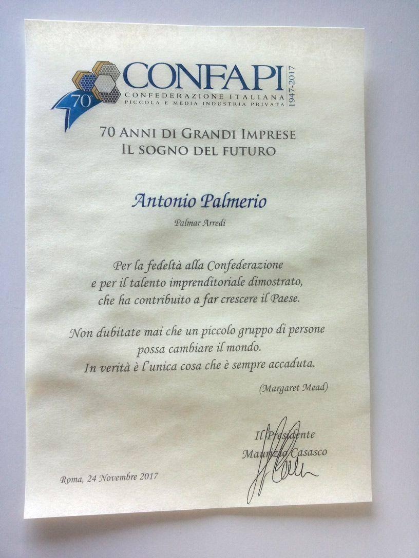 Convegno CONFAPI Palmar Arredi